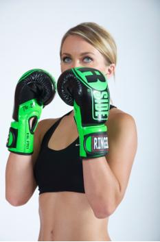 closeup ringside gloves